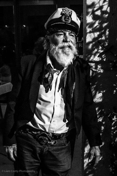 Captain Bob - a street portrait