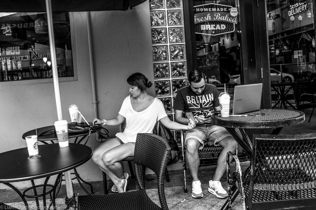 Street photography in Miami