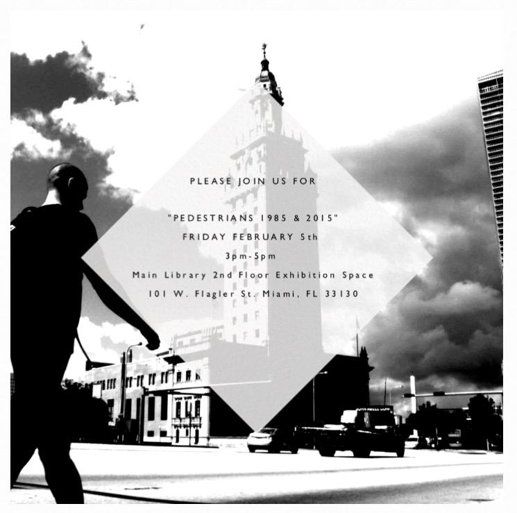 E-Invite for Pedestrians 1985-2015